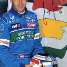 Austrian Formula One Driver GERHARD BERGER Signed Benetton Photo 1996