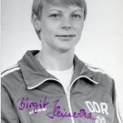 1980 Moscow Handball Bronze BIRGIT HEINECKE Hand Signed Photo