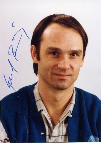 1986 Nobel Physics GERD BINNIG Hand Signed Photo