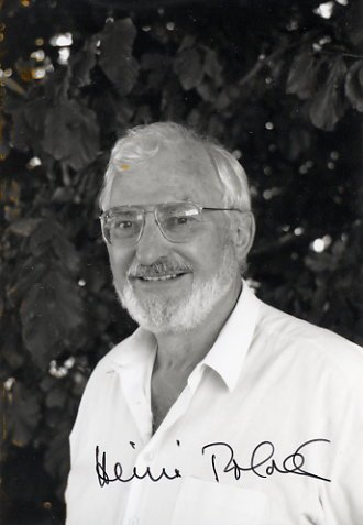 1986 Nobel Physics HEINRICH ROHRER Hand Signed Photo