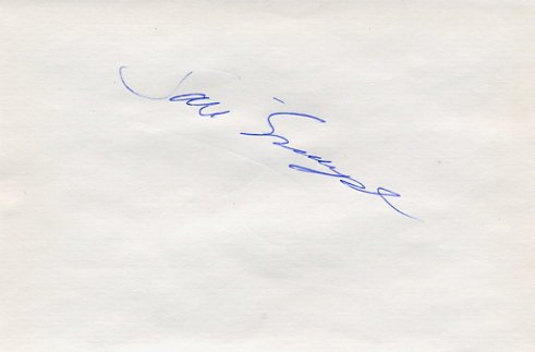 1993  10 km Walk World Champion SARI ESSAYAH Autograph 1994