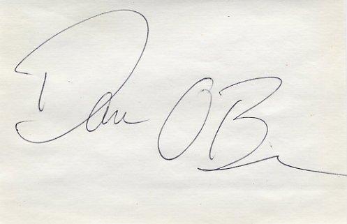1996 Atlanta Decathlon Gold DAN O'BRIEN Autograph 1995