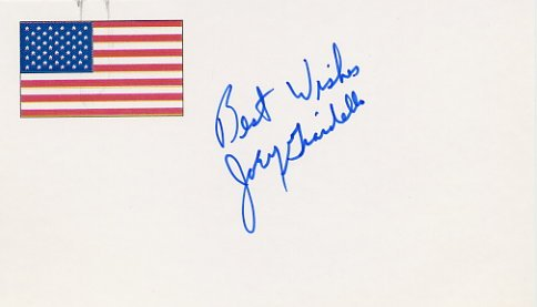 1963-65 Middleweight Boxing Champion JOEY GIARDELLO Autographed Card