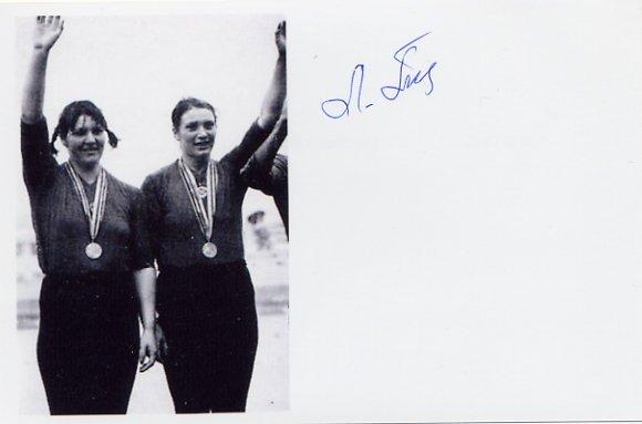 1976-1980 Rowing Silver & Gold LARISA ALEKSANDROVA-POPOVA Signed Photo