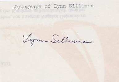 1976 Montreal Rowing Bronze LYNN SILLIMAN Autograph 1970s