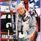 1960 Squaw Valley Alpine Skiing Downhill Gold HEIDI BIEBL  SP 4x6