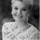 Finnish Soprano KARITA MATTILA Hand Signed Photo 1994