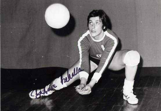 1980 Moscow Volleyball Silver BARBARA CZEKALLA  Signed Photo 4x6