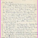 1956 Melbourne Canadian 100m Olympian DICK HARDING Autograph Letter Signed 1957