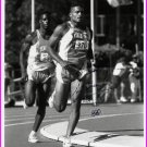 1992 Barcelona Decathlon Olympian ARIC LONG Hand Signed Photo 8x10