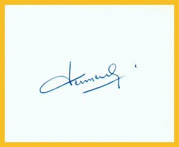 1956 Melbourne Cycling Gold MICHEL VERMEULIN Autograph 1980s