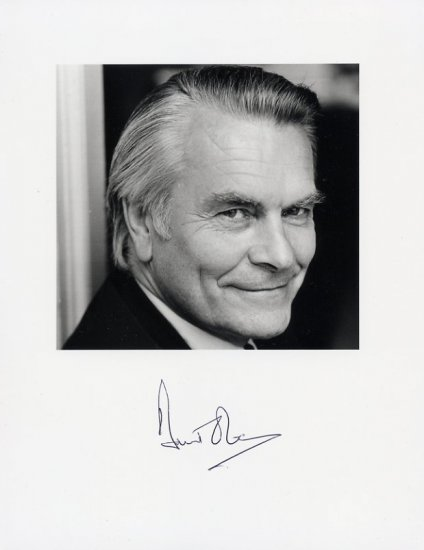 Former British Foreign Secretary & SDP DAVID OWEN Hand Signed Photo