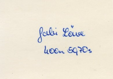 1980 Moscow 4x400m Relay Silver GABRIELE LOWE  Autograph