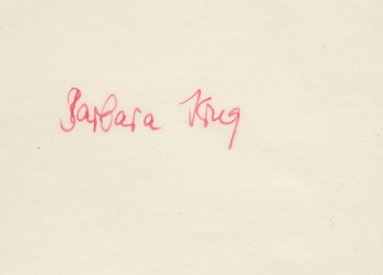 1980 Moscow 4x400m Relay Silver BARBARA KRUG  Autograph