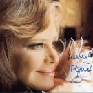 German Actress & Singer HILDEGARD KNEF Hand Signed Photo 1976