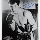 1963-65 Middleweight Boxing Champion JOEY GIARDELLO Hand Signed Photo 8x10