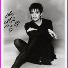 Legendary Actress & Singer LIZA MINELLI Hand Signed Photo 8x10 from  1994