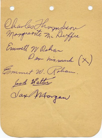 1928 Amsterdam 1500m Olympian JACK  WALTER  Autograph 1930s (+5)
