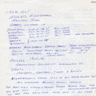 1928 Amsterdam Javelin Olympian CRETH HINES Autograph Letter 1969
