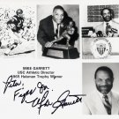 1965 Heisman Trophy USC Trojans MIKE GARRETT Hand Signed Photo 8x10
