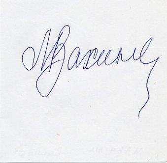 1980-88-92 Olympic Rowing Medalist ANTONINA MAKHINA  Autograph