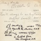 WWII Royal Air Force Autographs from 1942-43