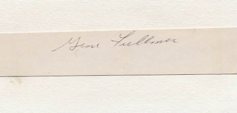 1957 Middleweight Boxing Champion GENE FULLMER Autograph