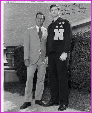 1973 US Hammer Throw Champion TED BREGAR Hand Signed Photo 8x10