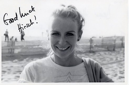 English Actress JULIET MILLS Autograph Note 1980s  Great Content