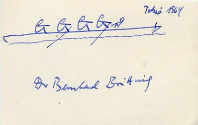 1964 Tokyo Rowing Gold BERNHARD BRITTING  Autograph & Sketch