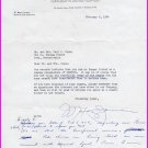 American Industrialist GENESCO - W. MAXEY JARMAN Typed Letter Signed 1964
