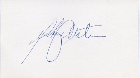 1988 Calgary Ice Hockey Bronze MATS KIHLSTROM Autograph 1988