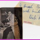 1948 & 1952 Figure Skating Gold DICK BUTTON Autograph Note Signed 1960