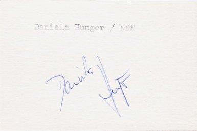 1988 Seoul & 1992 Barcelona Swimming Six Olympic Medals DANIELA HUNGER Autograph 1988