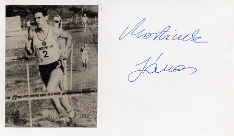 1988 Seoul Modern Pentathlon Gold JANOS MARTINEK Autograph 1988