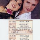 Legendary Ice Dancers TORVILL / DEAN - 1986 World Tour Tickets & Pict