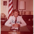 Illinois Politician 1980 Pres Cand PHILIP M. CRANE Hand Signed Photo 8x10 from 1970s