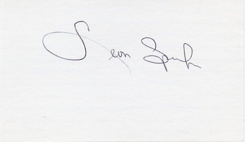 1976 Montreal Boxing Gold & Heavyweight World Champ LEON SPINKS Autographed Card #2