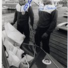 1980 Moscow Sailing Silver JORN BOROWSKI / EGBERT SWENSSON Autographed Photo 1980