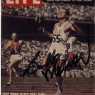 1956 Melbourne Three-time Sprint Gold BOBBY MORROW Autographed Card
