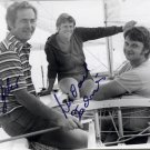 1976 Montreal Sailing Bronze DIETER BELOW / MICHAEL ZACHRIES Autographed Photo