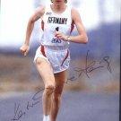 1988 Seoul Athletics Marathon Bronze KATRIN DORRE Autographed Photo Card