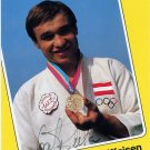 1984 Los Angeles Judo Bronze JOSEF REITER Hand Signed Photo