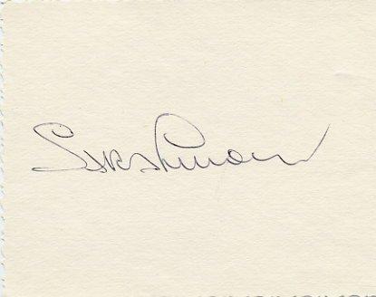 1980 Moscow Athletics High Jump Gold & WR SARA SIMEONI Autograph 1980