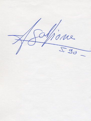 1996 Atlanta Athletics Pole Vault Gold JEAN GALFIONE Autograph