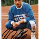 1988 Seoul Athletics 4x400m Relay Bronze NORBERT DOBELEIT Autographed Photo Card