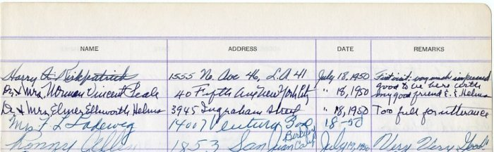 Influential Religious Figure & Author NORMAN VINCENT PEALE Autograph Note Signed 1950