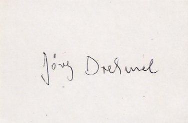 1972 Munich Athletics Triple Jump Silver JORG DREHMEL Autograph