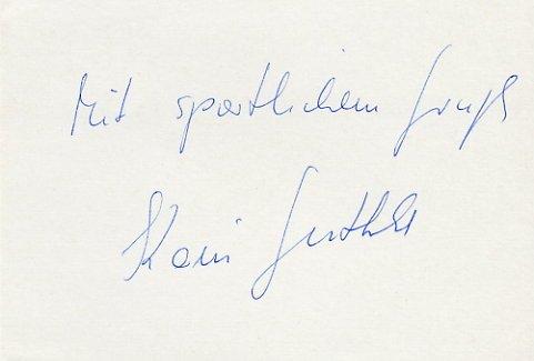 1980 Moscow Diving Bronze KARIN GUTHKE Autograph 1980