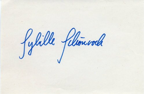 1980 Moscow Swimming Silver SYBILLE SCHONROCK Autograph 1980